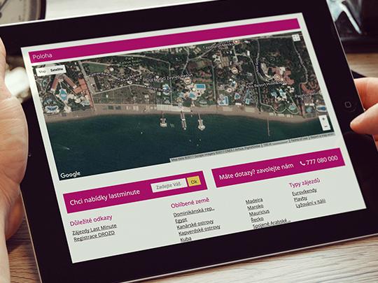 myway.cz - stránky cestovní agentury